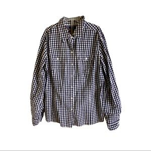 Tommy Hilfiger black and white shirt
